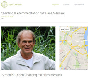Chanting Keulen - Hans Mensink Breathwork